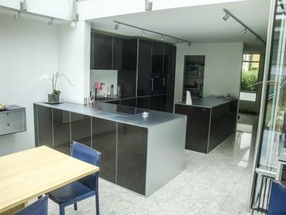 Küche in Schwarz